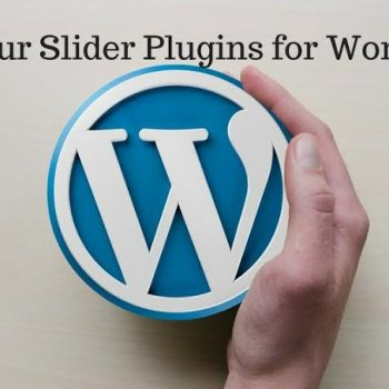 Top 4 WordPress Plugins for Sliders