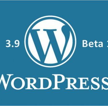 WordPress 3.9 Beta 1 Released